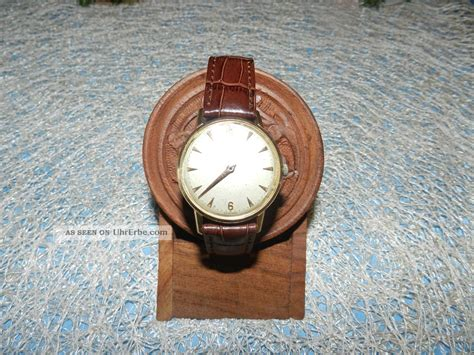 Michael Kors Uhren Gold 1333 by Zenith Automatic Armband Echt Gold Herren Uhr Vintage