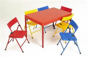 Cosco Folding Table And Chairs Cosco Products Cosco Kid S 7 Folding Chair And Table Set