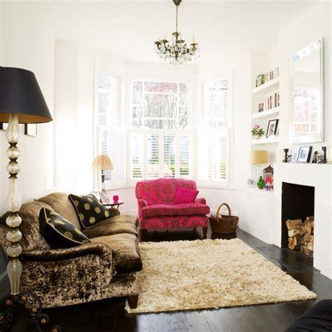 living room boho chic victorian terrace house  ideal home housetohomecouk