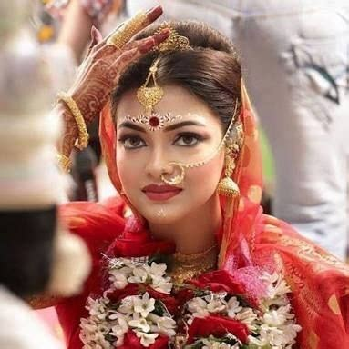 bengali hairstyles at home bengali wedding bridal makeup happy shappy india s own