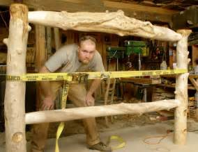 how to build how to make your own log furniture pdf plans