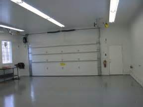 finished garages here s a finished garage with fluor