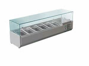Refrigerated Bar Top krio 1500 stainless steel refrigerated countertop salad bar