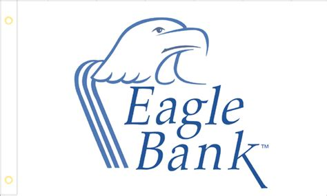 eagle bank corporate flags custom corporate logo flags american