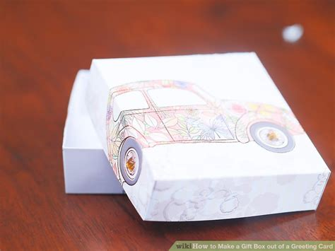 Make A Gift Box Out Of Old Greeting Cards - how to make a gift box out of a greeting card with pictures