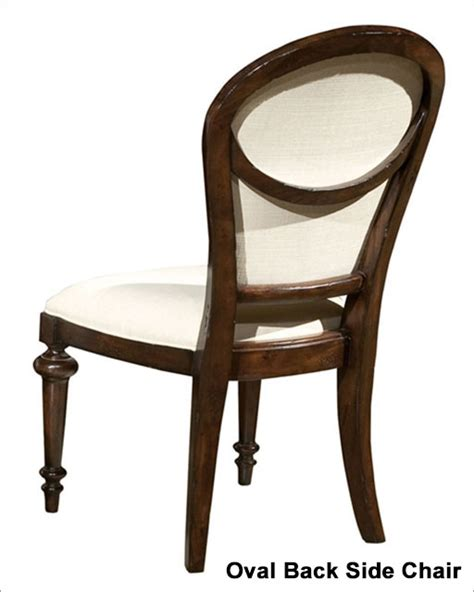 Oval Back Side Chair by Hekman Oval Back Side Chair Charleston Place He 942705cp