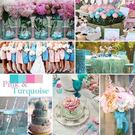 turquoise and pink wedding decorations shabby chic wedding ideas artisan cake company