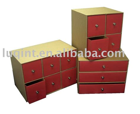 Cardboard Drawer Storage by Paper Drawer Cd Box Storage Organizer Cardboard Drawer