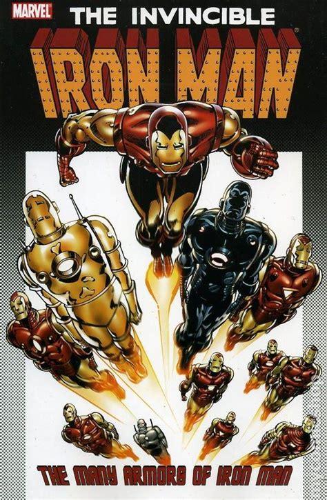 iron man armors iron man tpb marvel