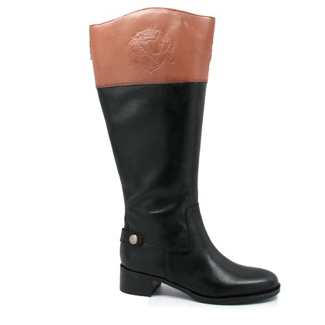 womans wide calf boots franco sarto s chip wide calf boots black
