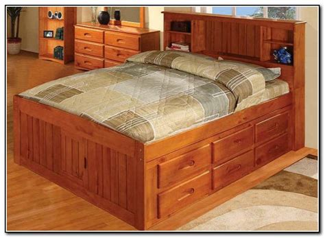 full size captains bed with drawers full size captains bed with 12 drawers beds home