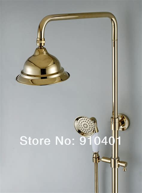 Shower Faucets Sets by New Wholesale Retail Promotion New Luxury Golden Bathtub