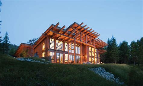 suncadia washington timber home precisioncraft log and