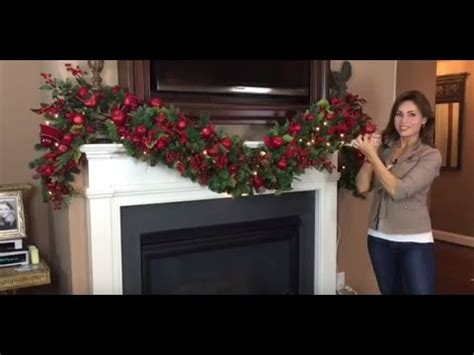 the inn at christmas place garland length how to create a spectacular garland for your mantel length