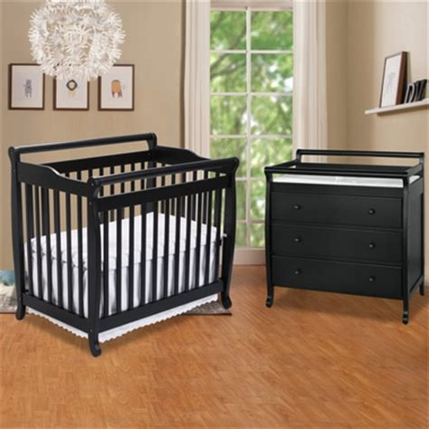 Mini Crib With Drawers Da Vinci 2 Nursery Set Emily Mini Crib 3 Drawer Changer Free Shipping Davinci