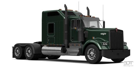 3dtuning of kenworth w900 sleeper cab truck 2014 3dtuning unique on line car configurator