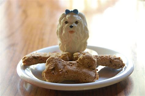 recipe pear molasses dog biscuits