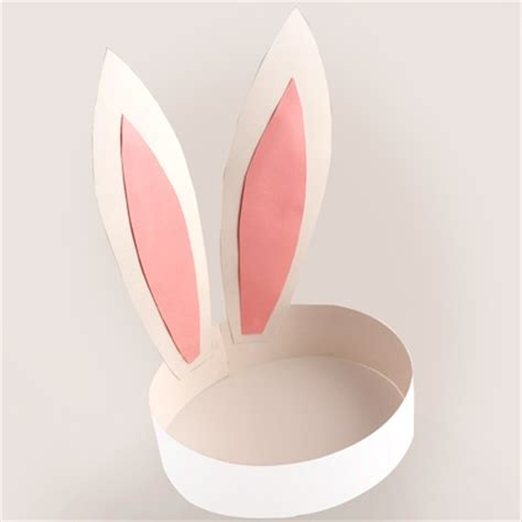 How To Make Paper Ears - paper bunny ears