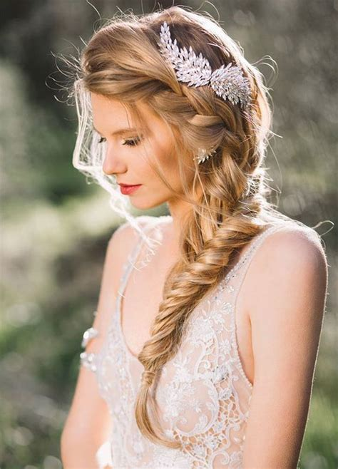 best 25 side braid wedding ideas on side hairstyles wedding hair side and side
