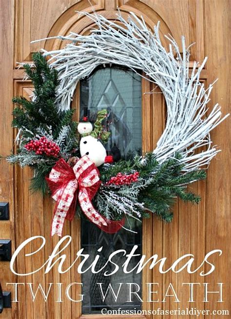 15 easy diy outdoor christmas decorating ideas a