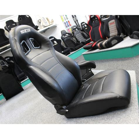 sparco expedition land rover vinyl reclining sport seat