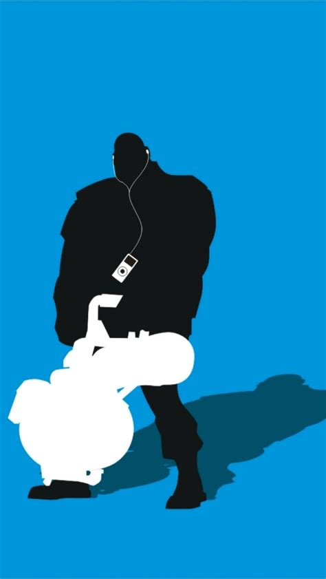 01032b Silhoutte Ii Blue tf2 blue heavy silhouette earbuds for iphone5 by cwegrecki