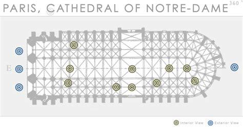 notre dame paris floor plan paris cathedral of notre dame 360 department of art