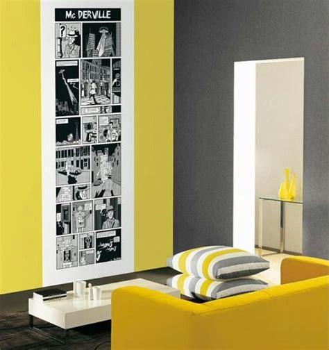sala gris  amarilla decoracion home decor room paint  wall colors