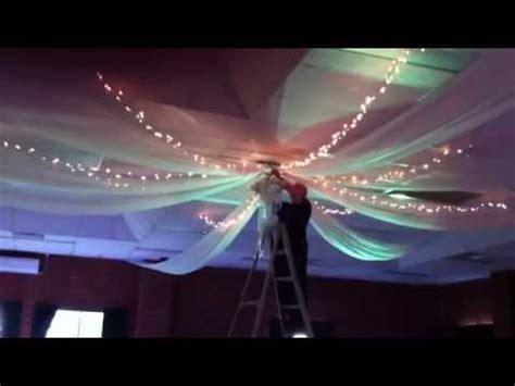 bent philipson | wedding ceiling drapes youtube
