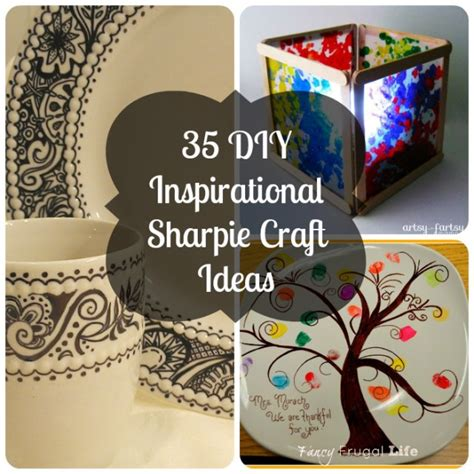 craft project 35 diy inspirational sharpie craft ideas