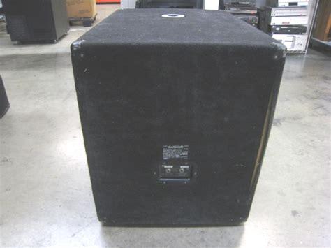 Speaker Yamaha 18 Inch yamaha sw1181v 1000w 18 quot subwoofer speaker r