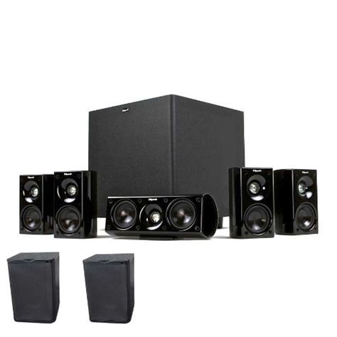 klipsch hd theater 600 5 1 home theater system with free 2