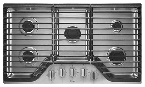 best buy gas cooktop best buy whirlpool 36 quot builtin gas cooktop stainless