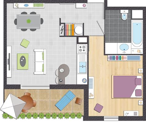 the appartement plan appartement 35m2