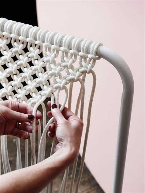 macrame hanging chair plans best 25 diy chair ideas on