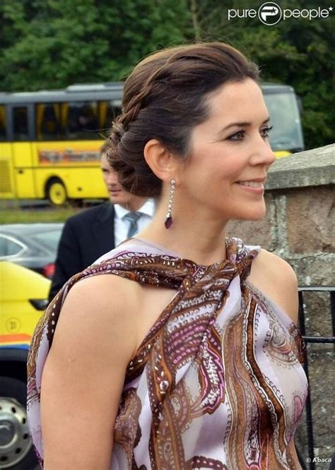 Princess Mary Of Denmark New Bangs | crown princess mary of denmark danish royals