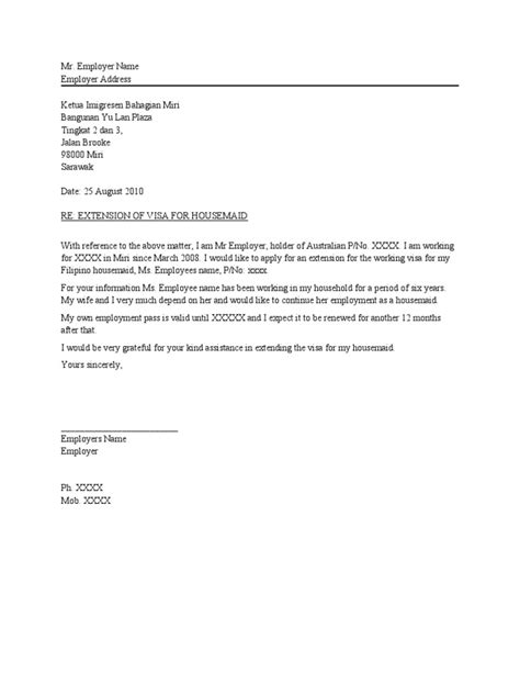 Letter Of Support From Employer For Visa Sle Letter From Employer To Support Visa Application Drureport339 Web Fc2