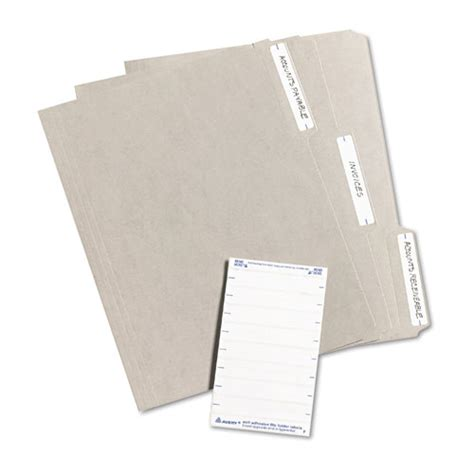 avery template 5202 avery 5202 print or write file folder labels 11 16 x 3 7