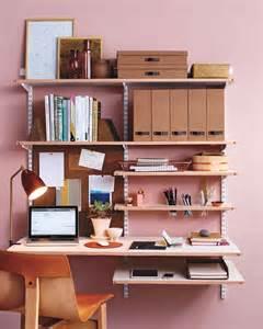 Martha Stewart Desk Organization Diy Leather Shelf Edging For A Chic Home Office Martha Stewart