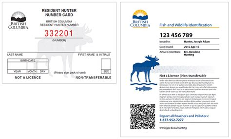 Bc Gift Card Services - service card in bc fish wildlife id fwid province of british columbia landscaping