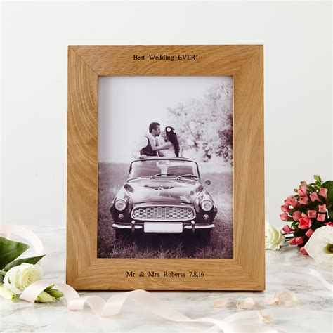 oak photo frame 8x6 mijmoj