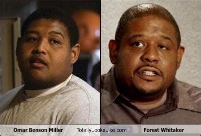 forest whitaker vs omar benson miller omar benson miller totally looks like forest whitaker