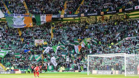 celtic park standing section brendan rodgers tactics got celtic through says andy