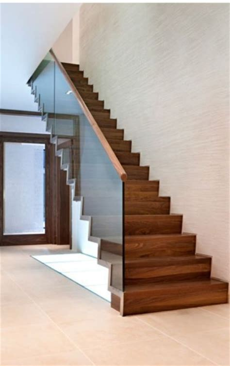 Stair Banister Rail Best 25 Glass Stair Railing Ideas On Pinterest