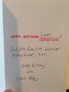 why do we even give birthday cards to 2 year olds that can
