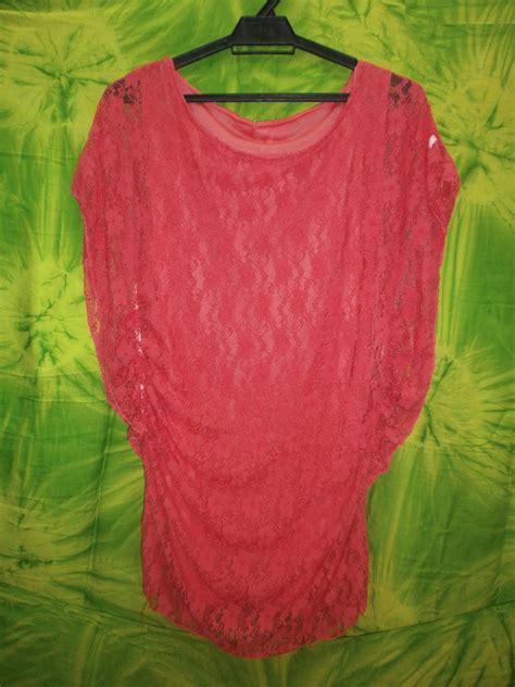 Baju Blouse Fl Vioni beli baju baju borong fesyen muslimah