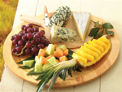 How To Decorate Cheese Platter by Fruit And Cheese Platter Recipe From Betty Crocker