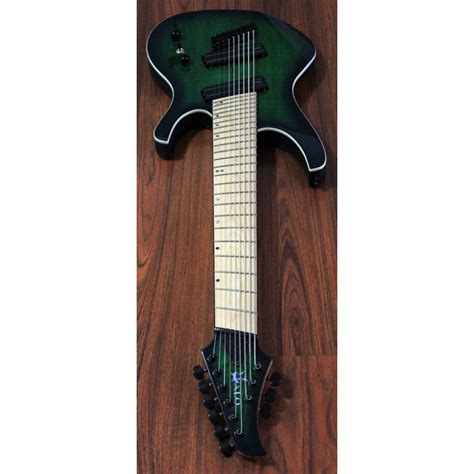 8 string fanned fret guitar halo 174 octavia 9 string guitar 30 quot 28 quot fanned fret multi