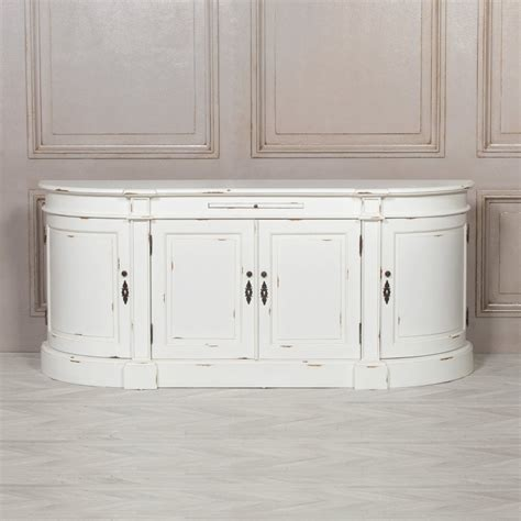 distressed white large buffet sideboard dining room