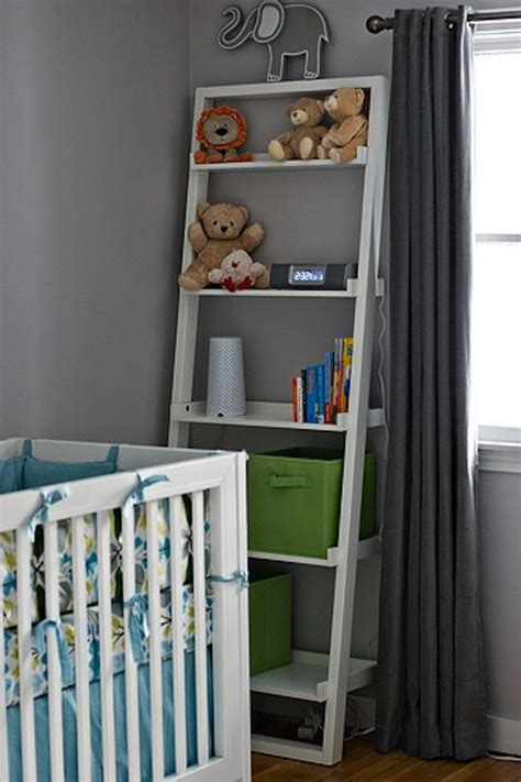 100 white shelves nursery grayson u0027s modern